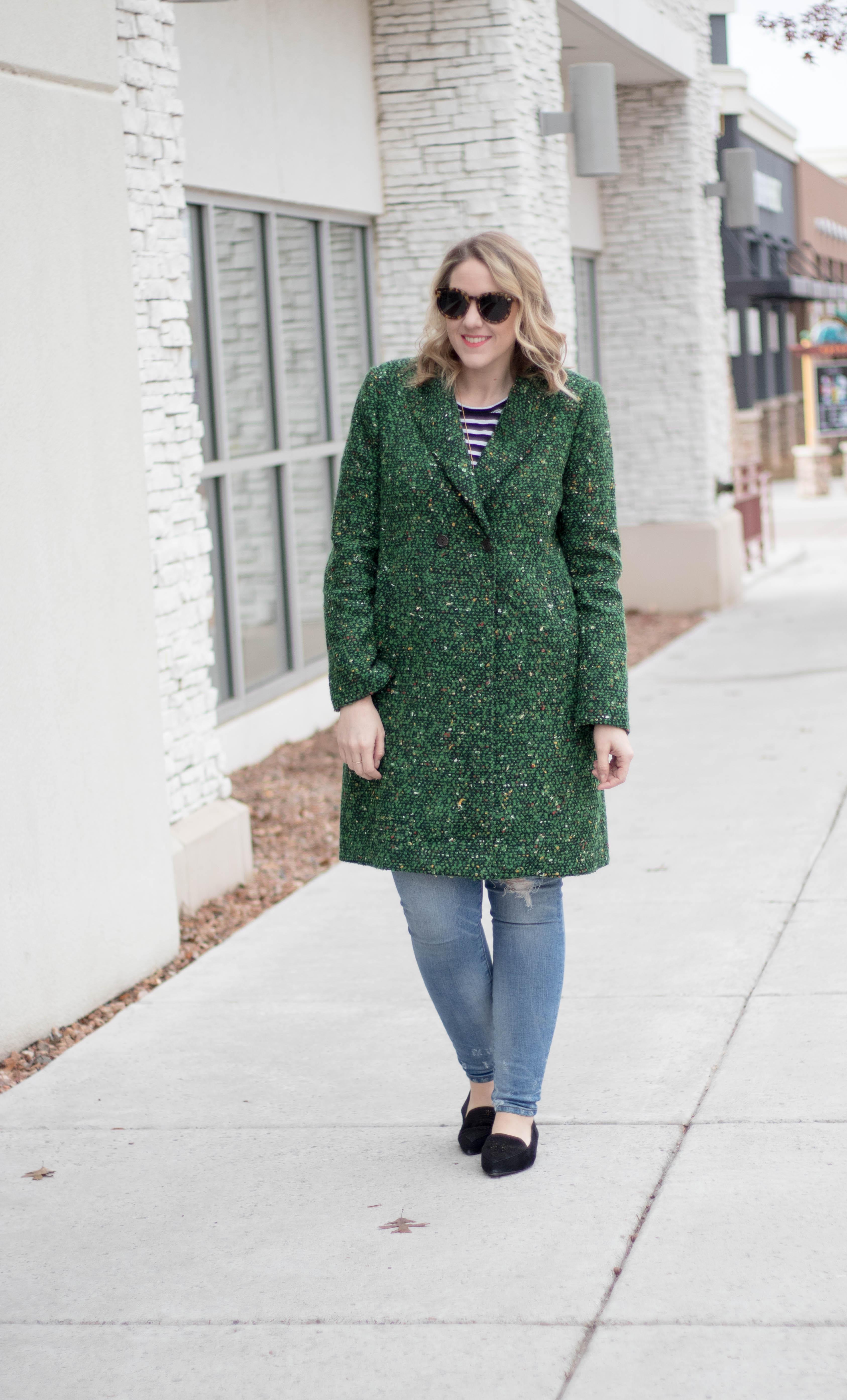 winter fashion trends tweed coat #wintertrends #winterfashion #jcrew