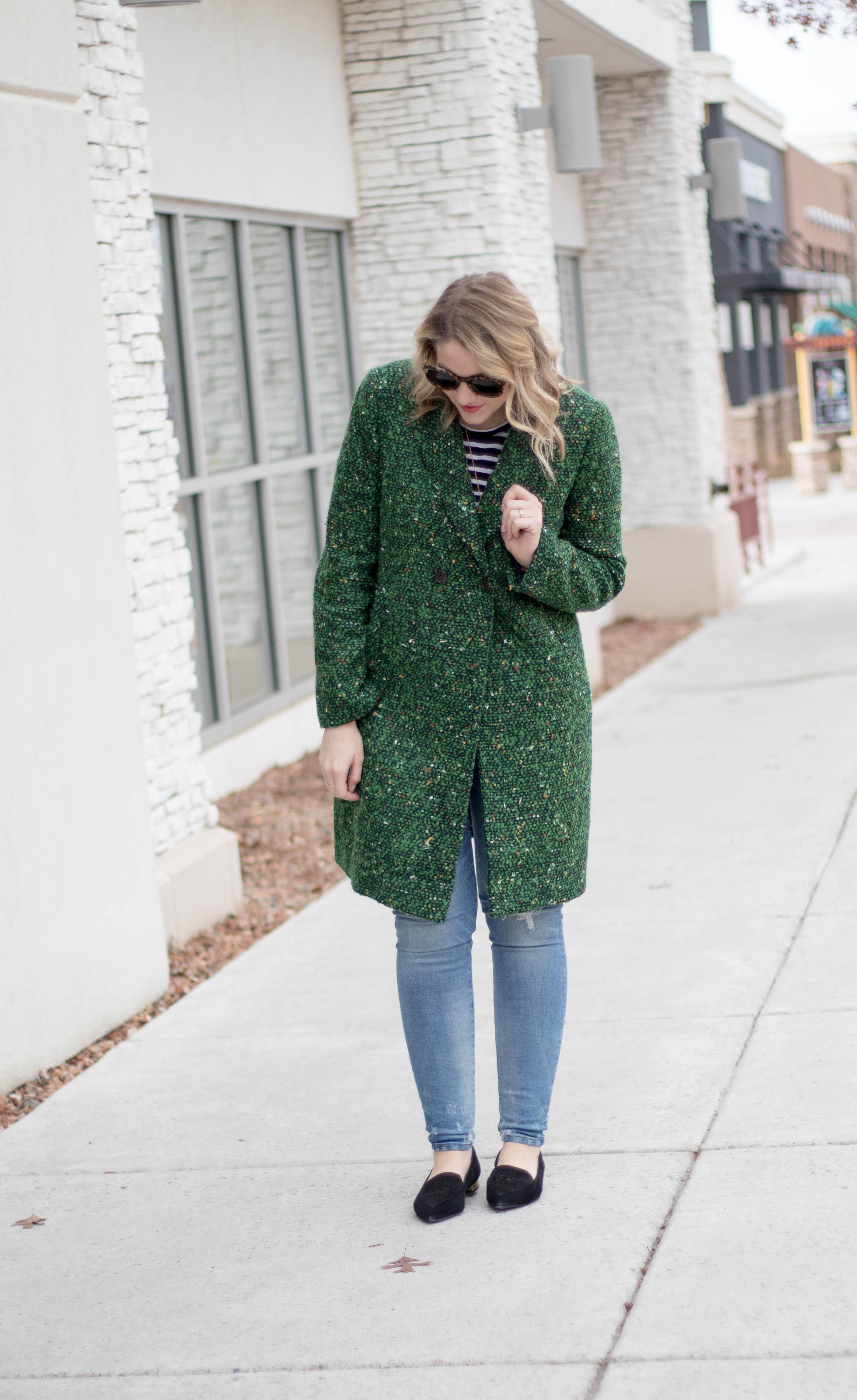 how to style a tweed coat #tweed #everydaymadewell #jcrew