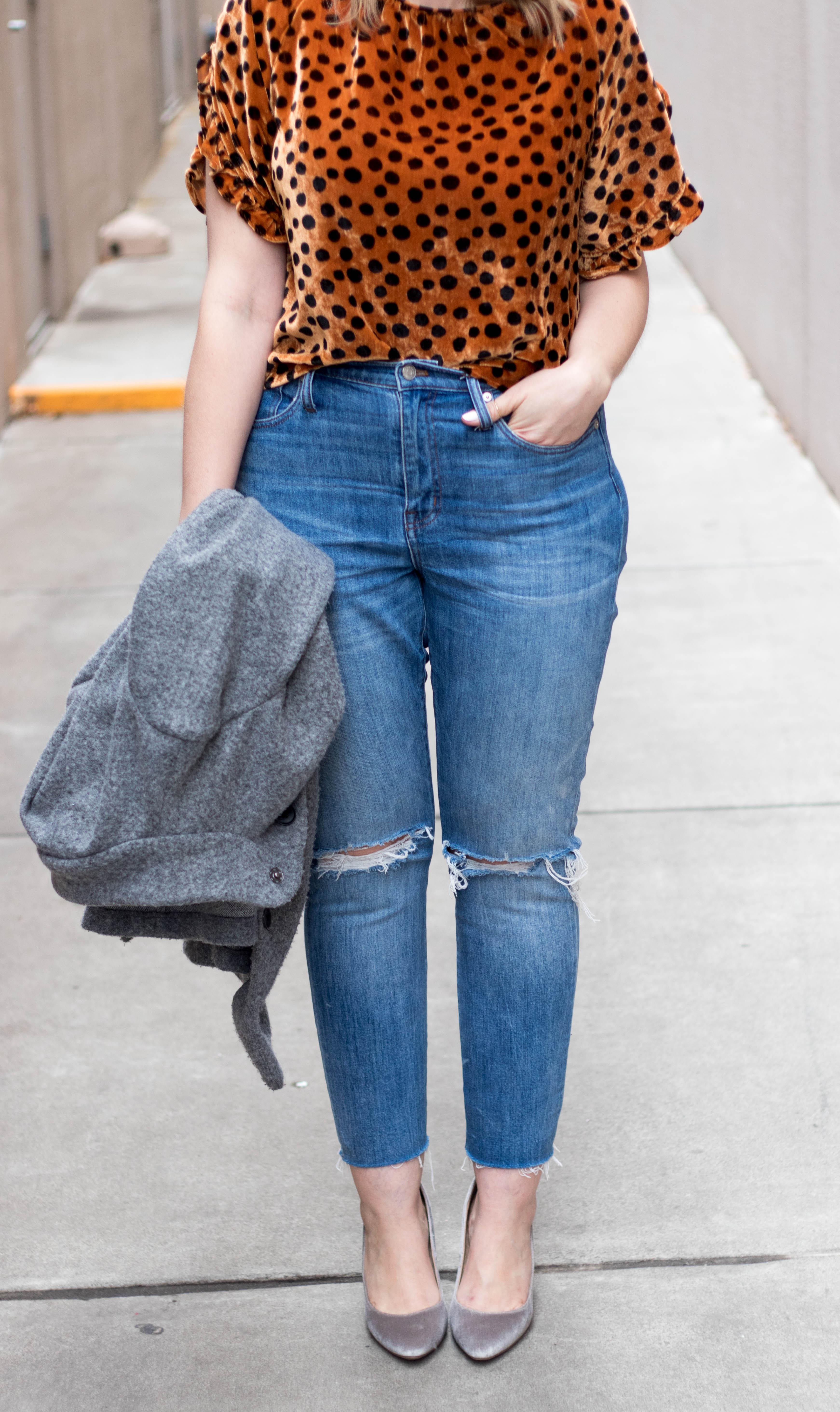 madewell high rise boyfriend jeans #boyfriendjeans #tallfashion #oldnavystyle