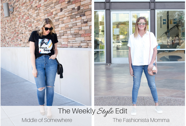 the weekly style edit link up