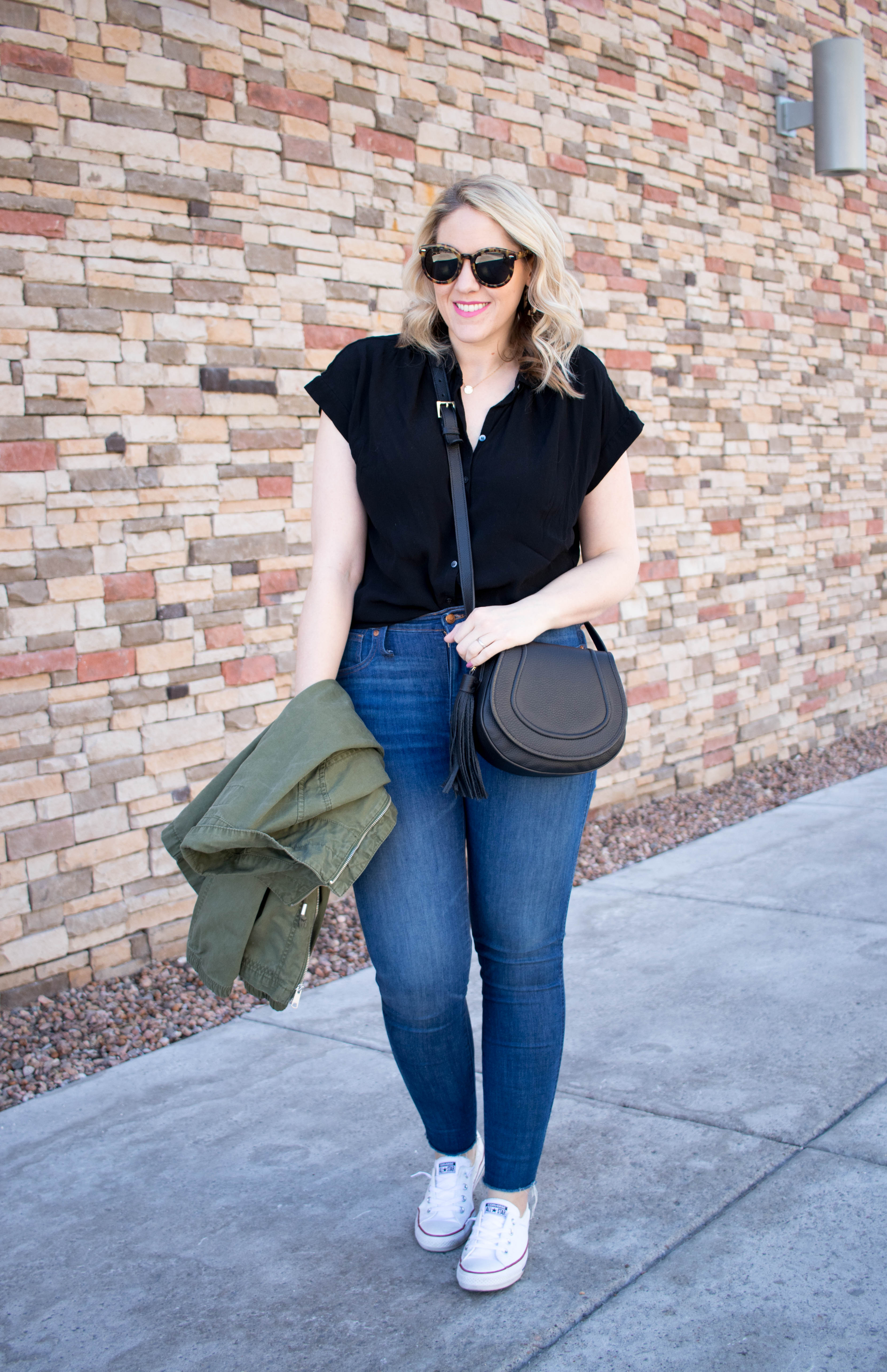 madewell central shirt outfit #madewell #everydaymadewell #momstyle