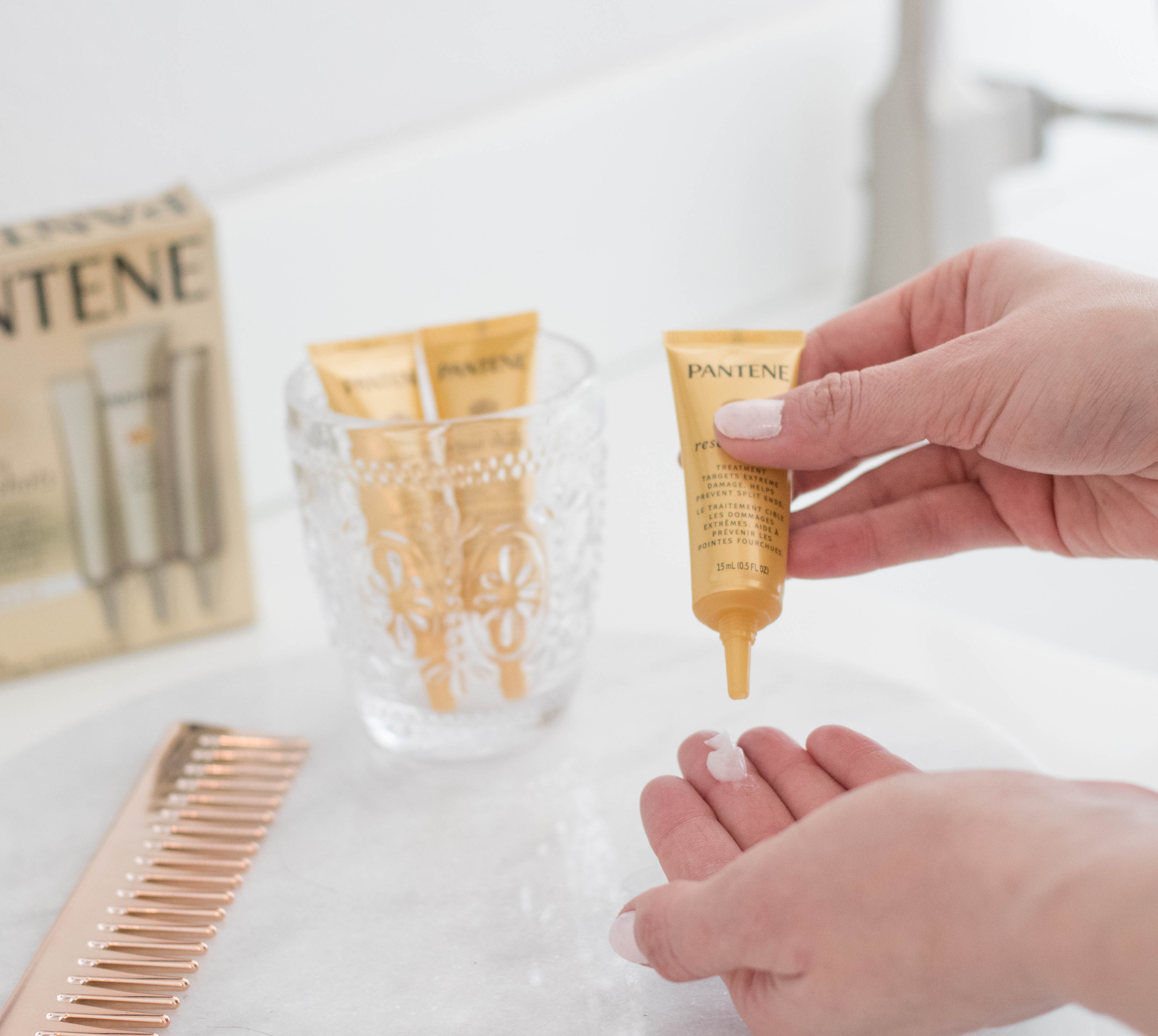 pantene pro-v intensive rescue shots review #pantene #rescueshots #haircare