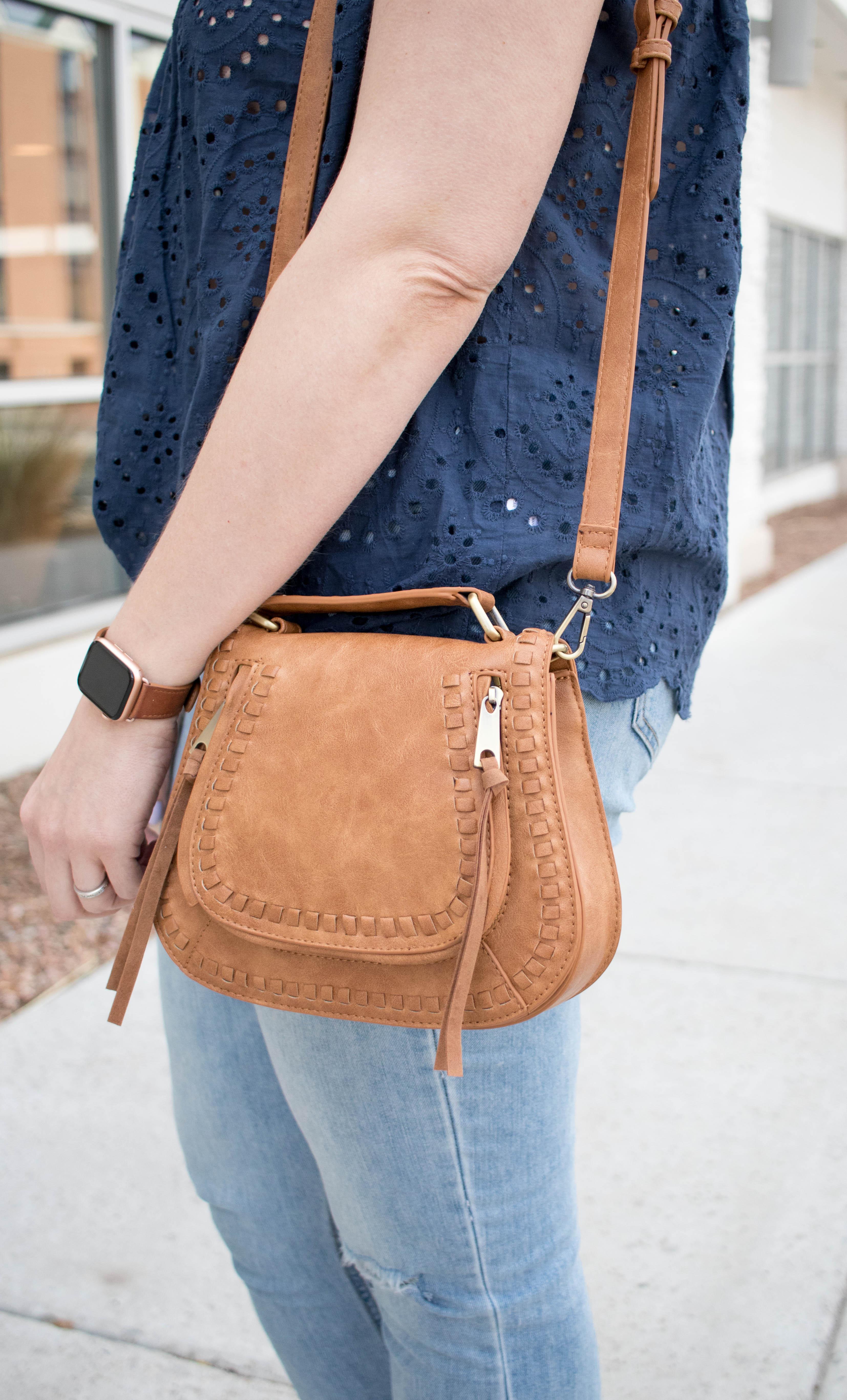 Rebecca Minkoff handbag dupe #outfitdetails #springaccessories #purse