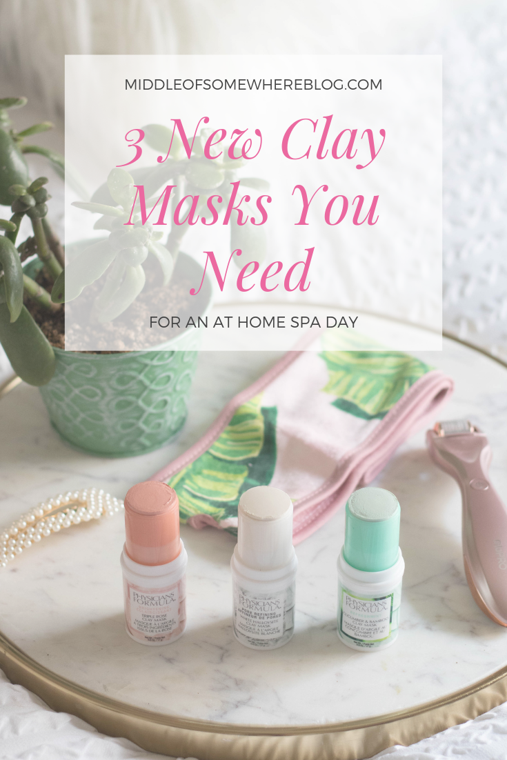 3 new clay masks you need physicians formula #physiciansformula #ad #athomespaday
