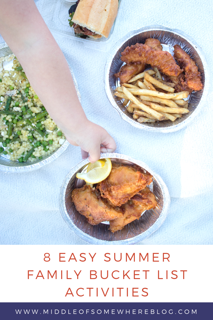8 easy summer family bucket list activities #ad #grubhub #grubhubpartner