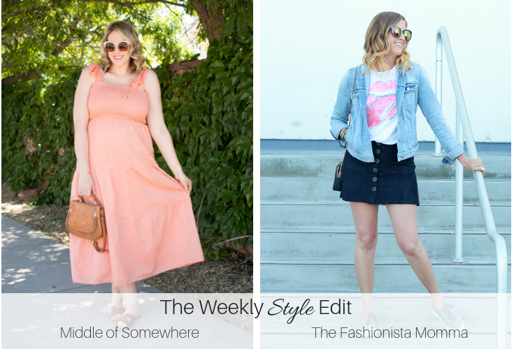 the weekly style edit link up coral sundress #theweeklystyleedit
