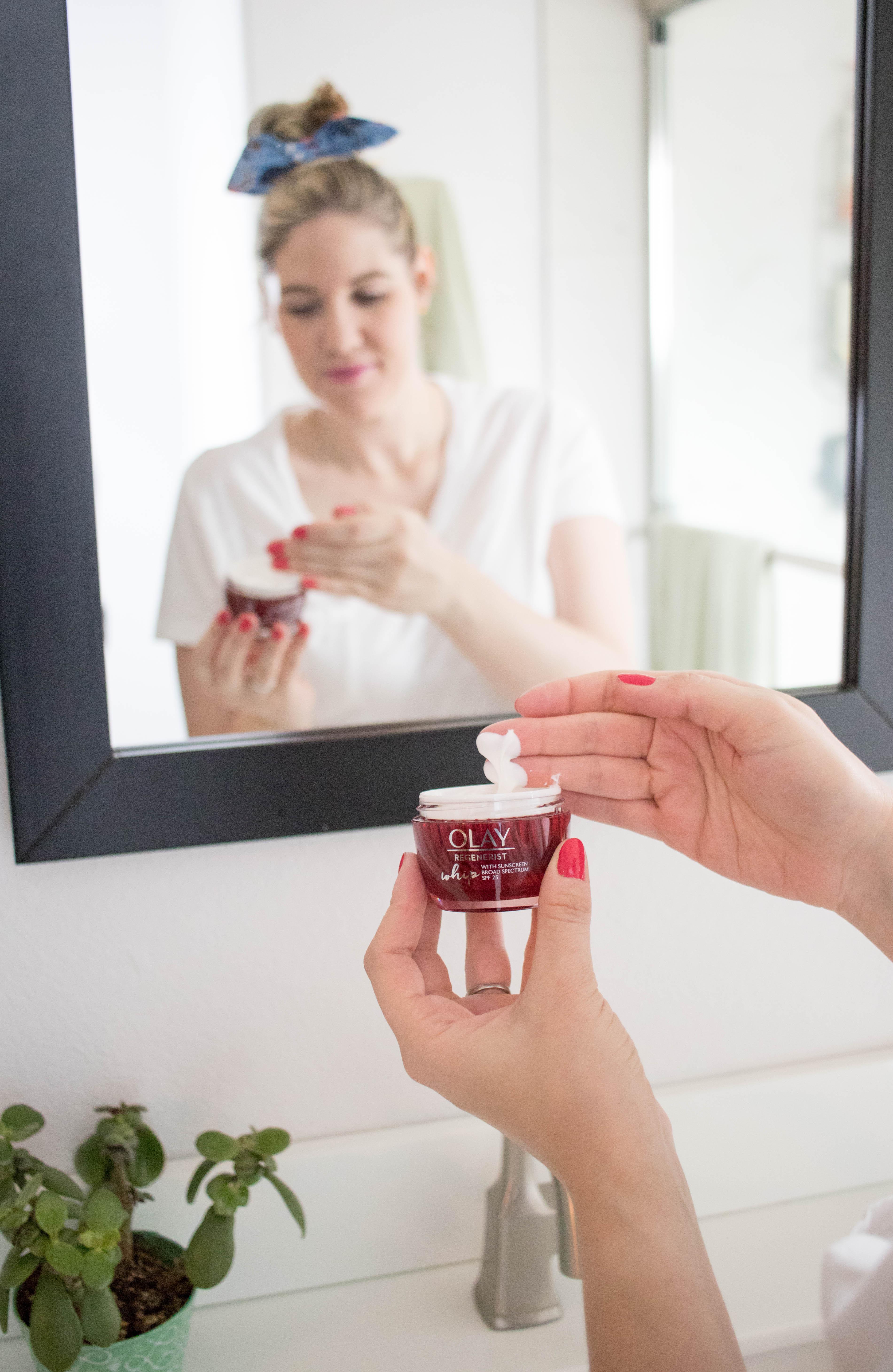 olay whip moisturizer review #olaywhip #olay #skincareroutine