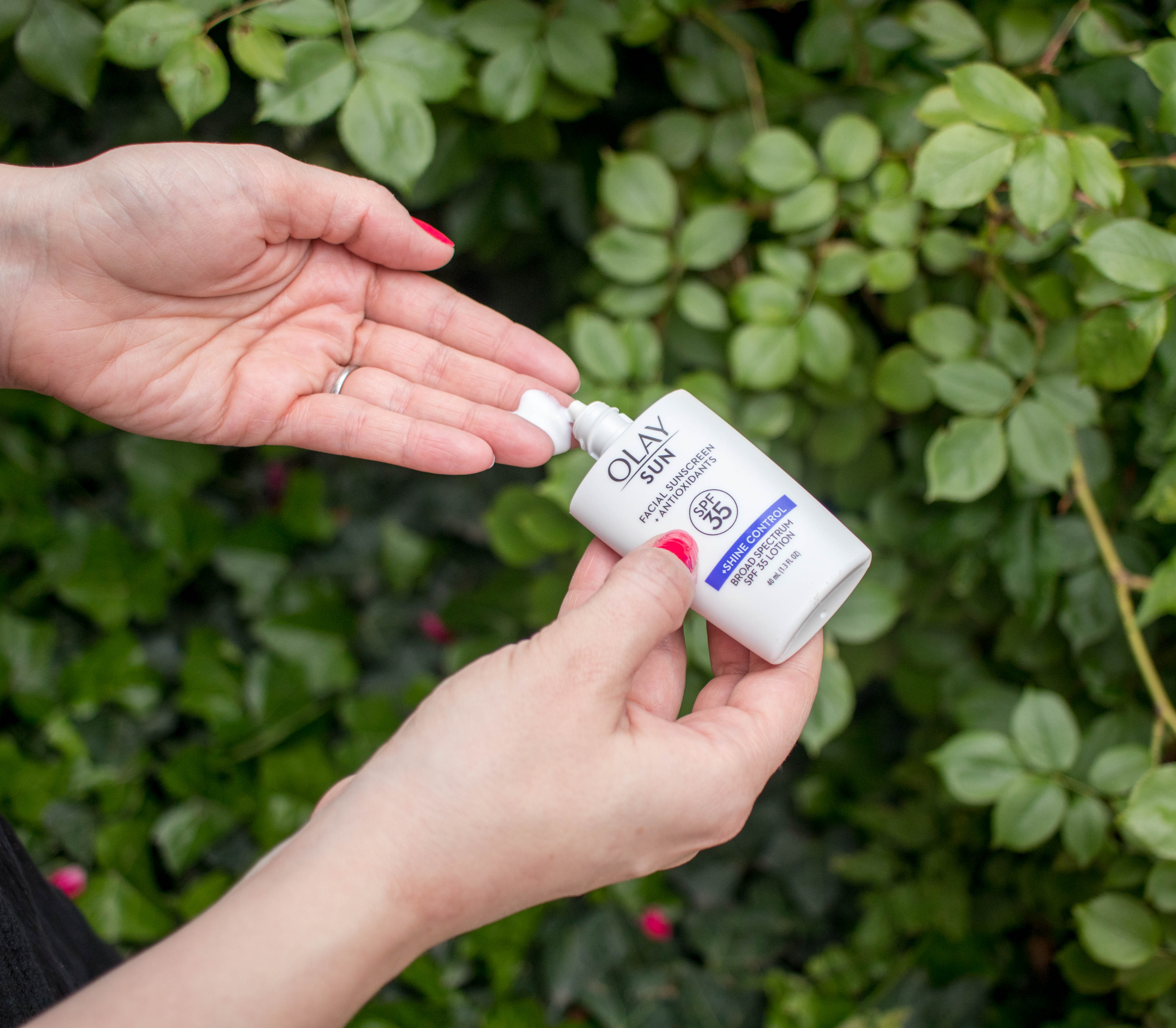 olay sun shine control sunscreen #olaysun #skincare #summerskincare