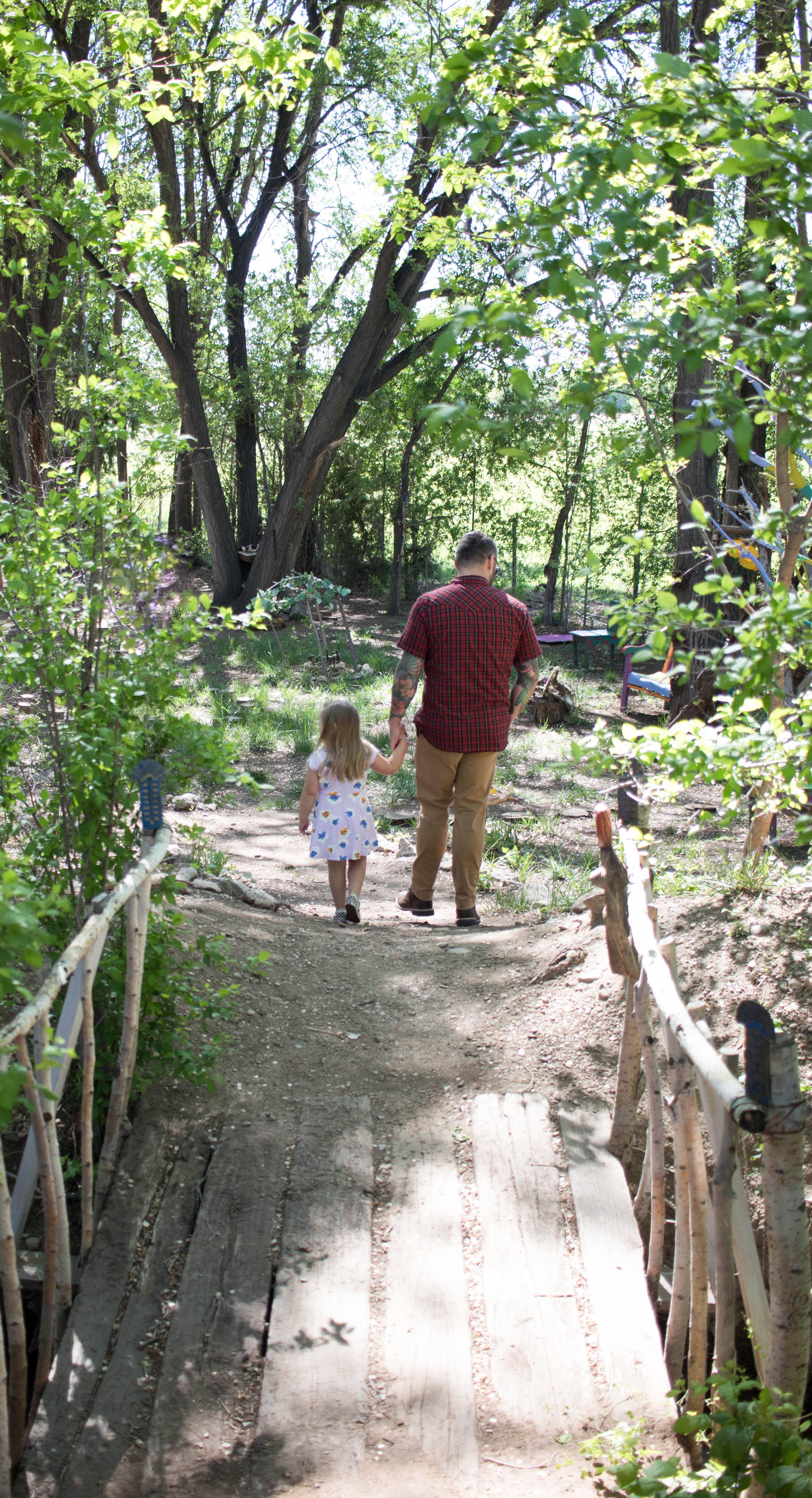 fairy garden at hondo iris farm #flowers #garden #fairygarden