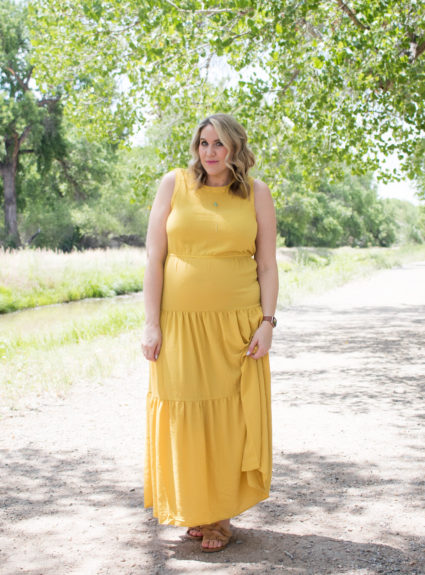 Yellow Boho Maxi Dress: The Weekly Style Edit