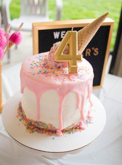 Harper's Ice Cream Themed Birthday Party