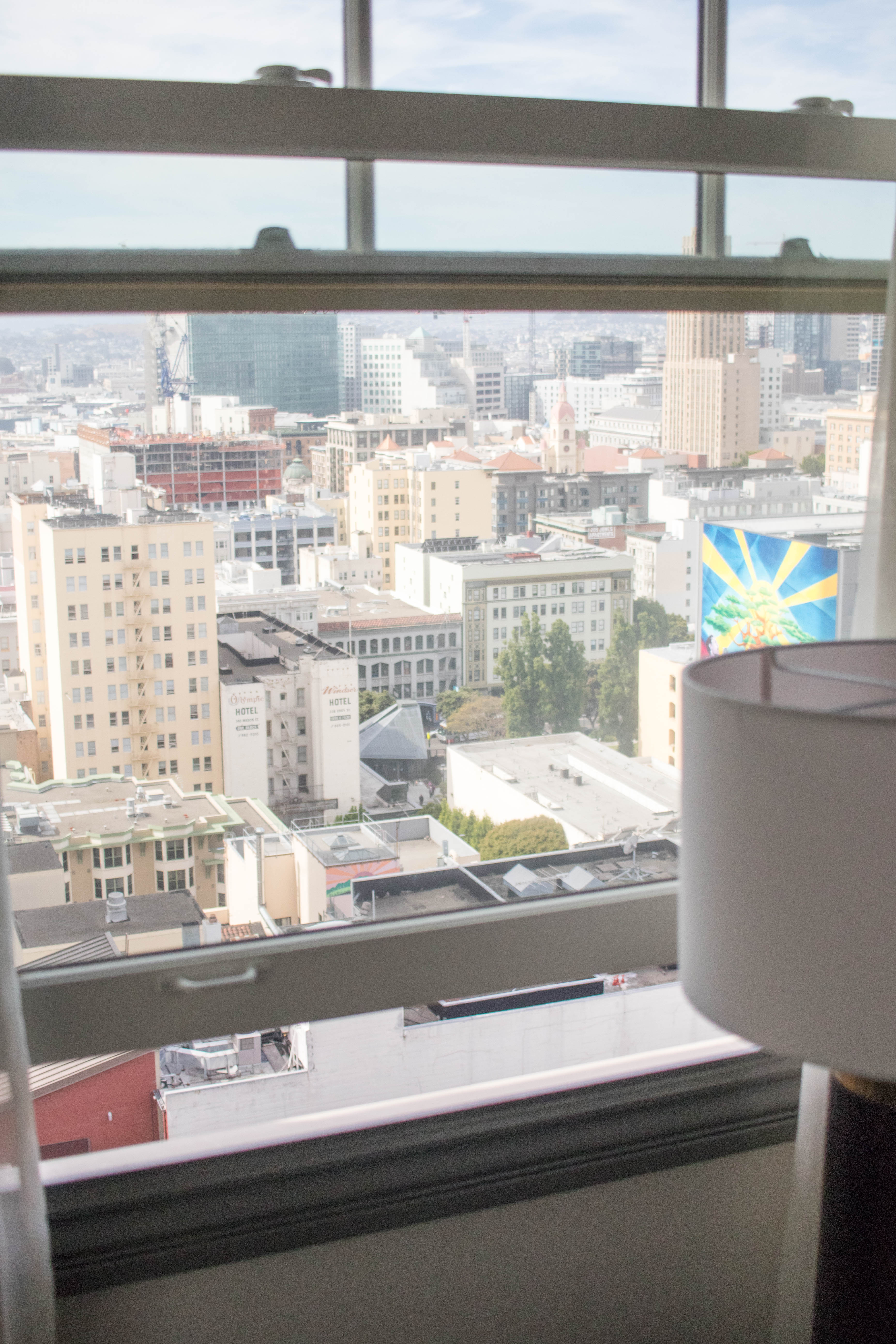 San Francisco hotel view hotel spero #hotelspero #sanfrancisohotel #hotelreview