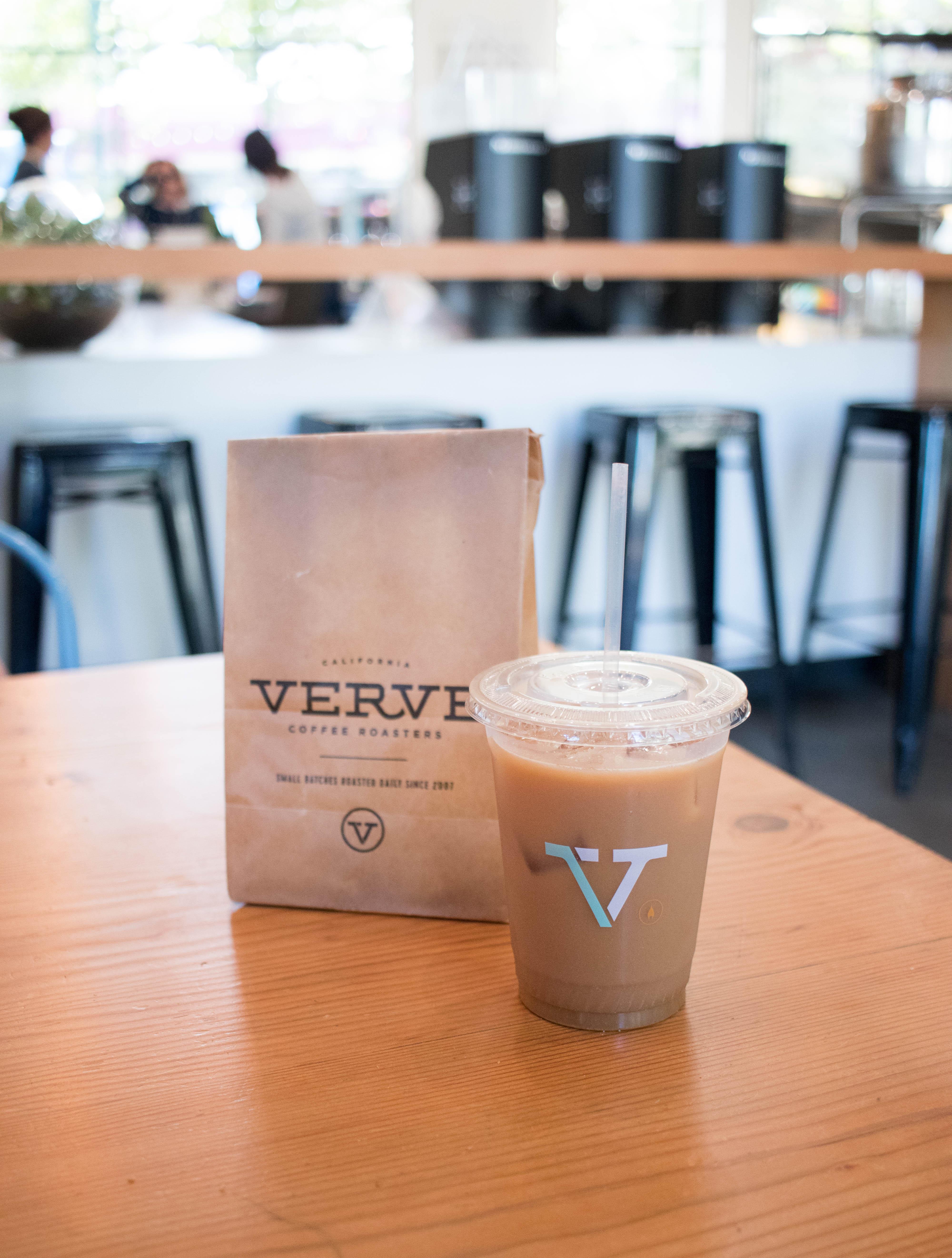 best iced chai Santa Cruz #vervecoffee #icedchai #coffeeshop
