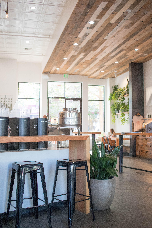 verve coffee shop Santa cruz #santacruz #vervecoffee #coffeeshop