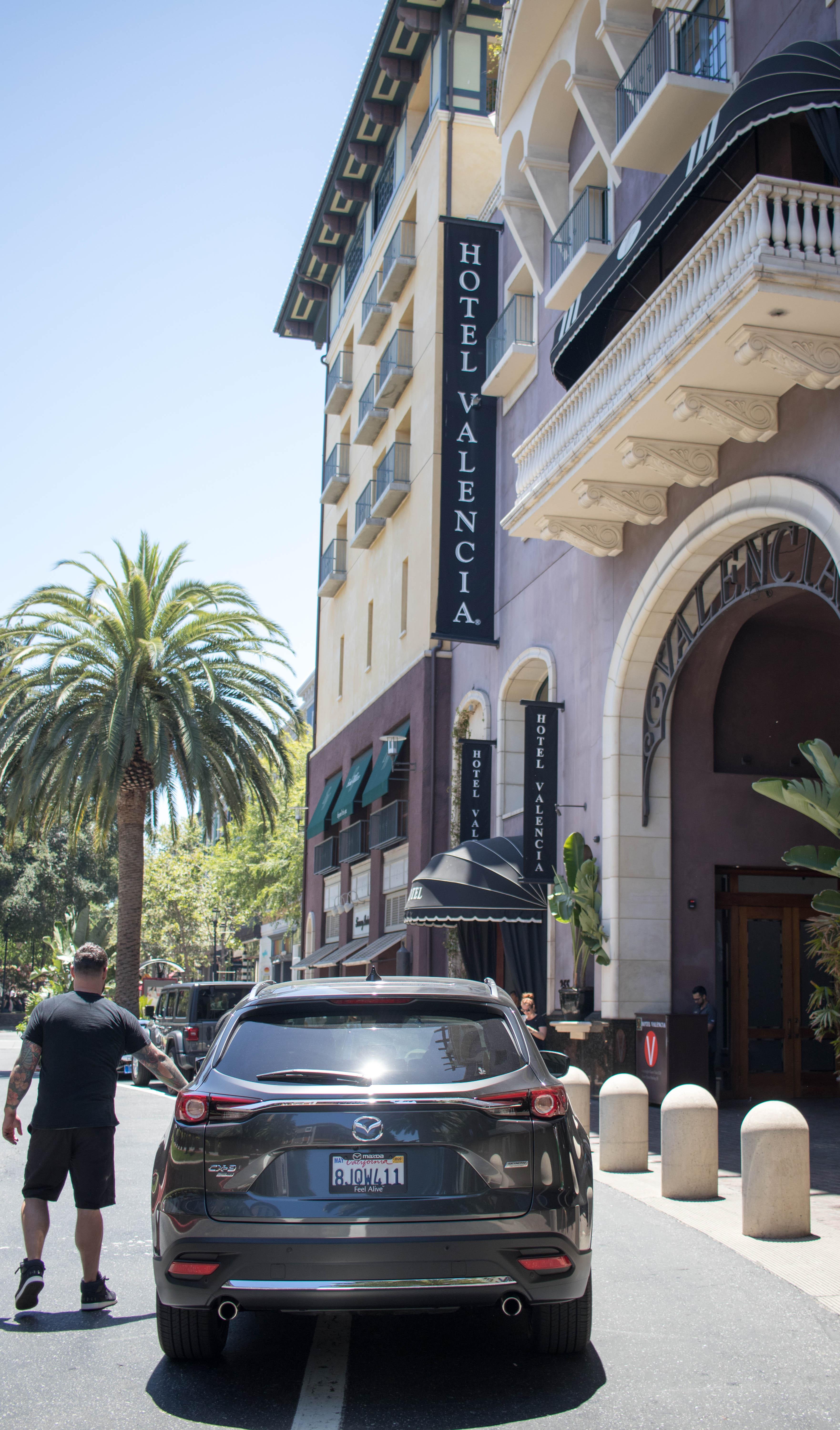 Santana row hotel valencia san jose #santanarow #drivemazda #mazda