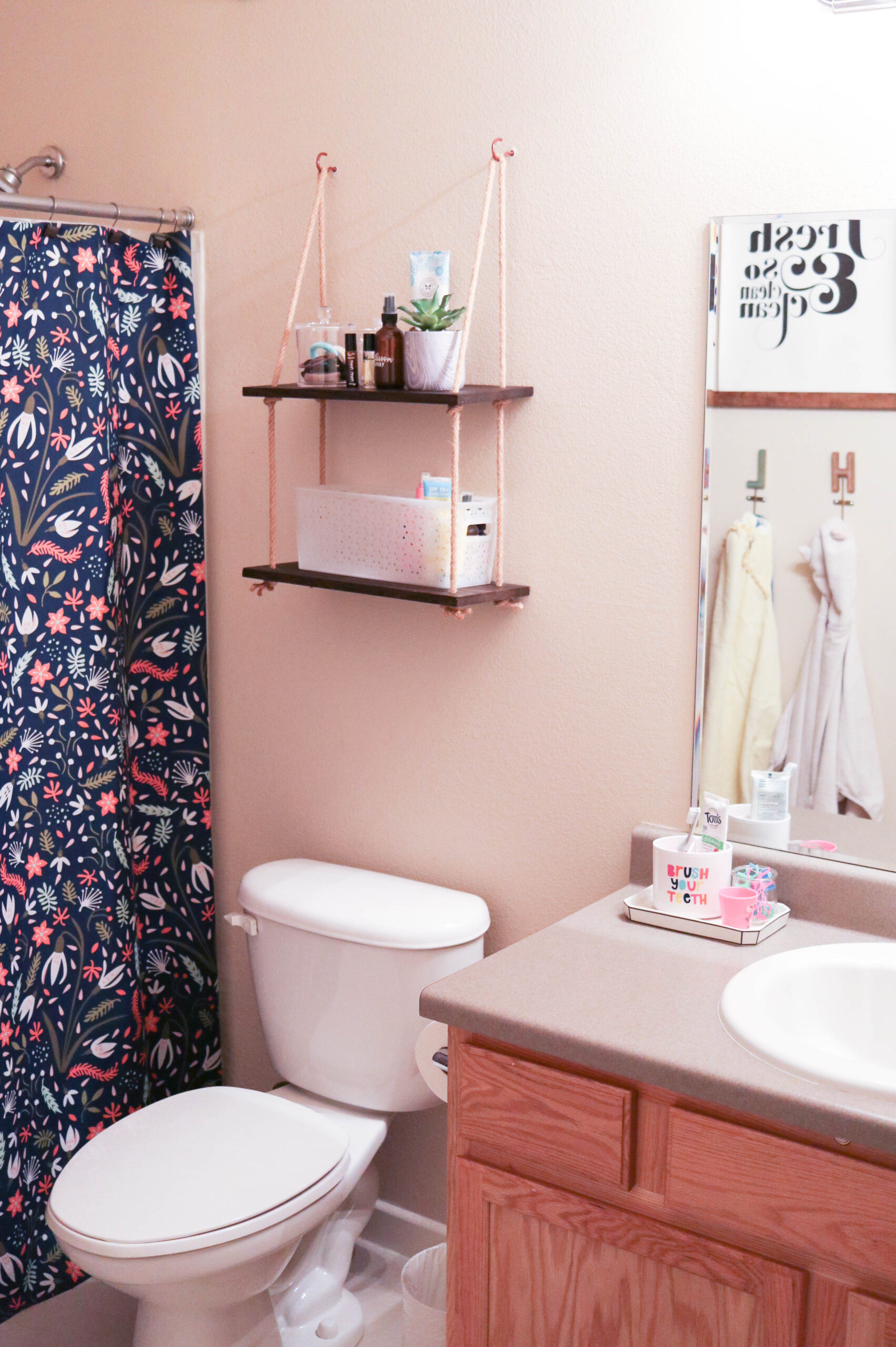 diy guest bathroom fresh before photos #diy #bathroomdecor