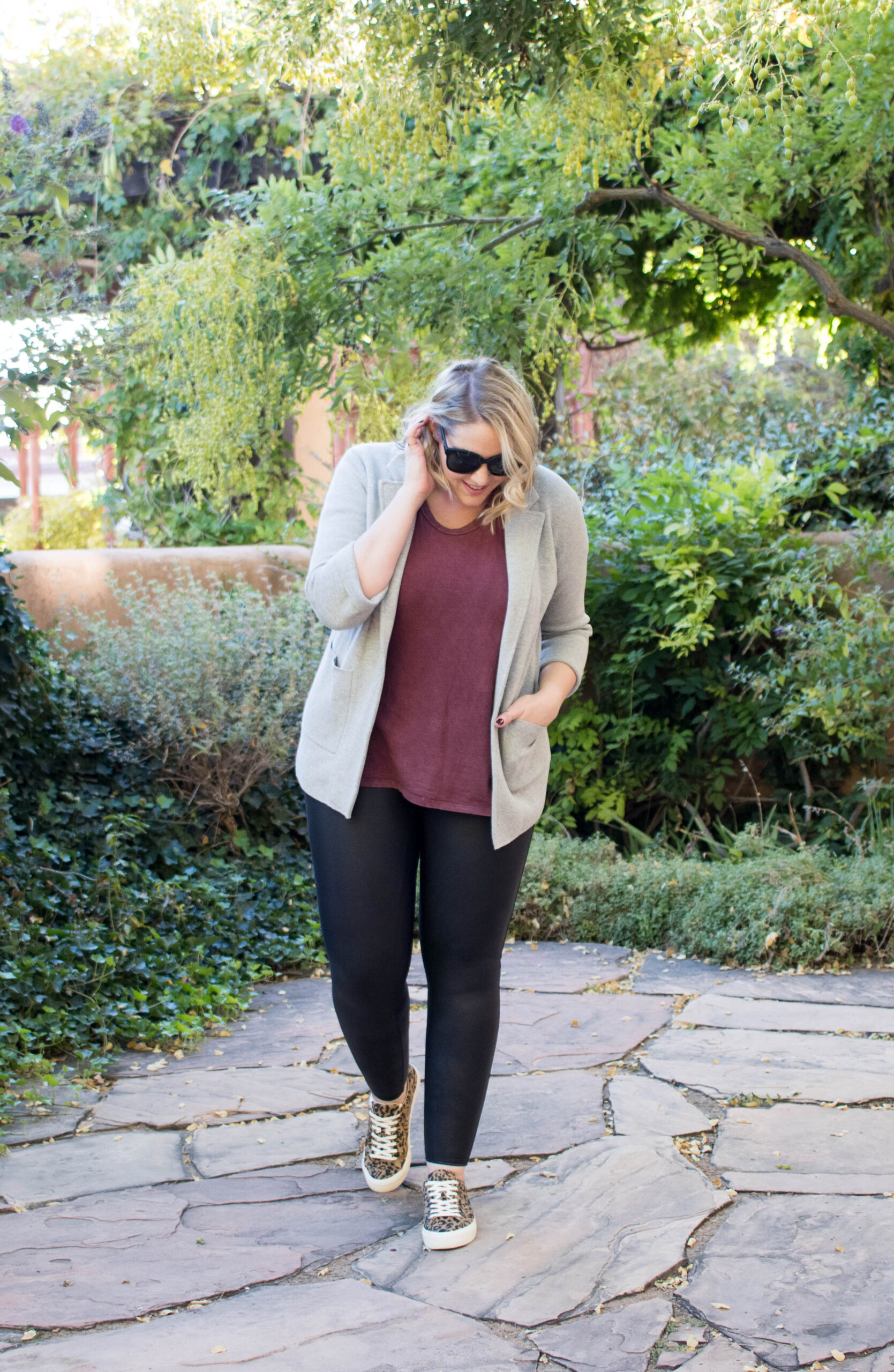 easy fall layers outfit #spanx #madewell #fallfashion