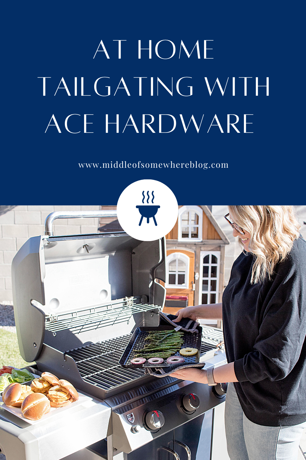ace hardware weber grills at home tailgating #acepartner #mylocalcace #webergrills #tailgaiting