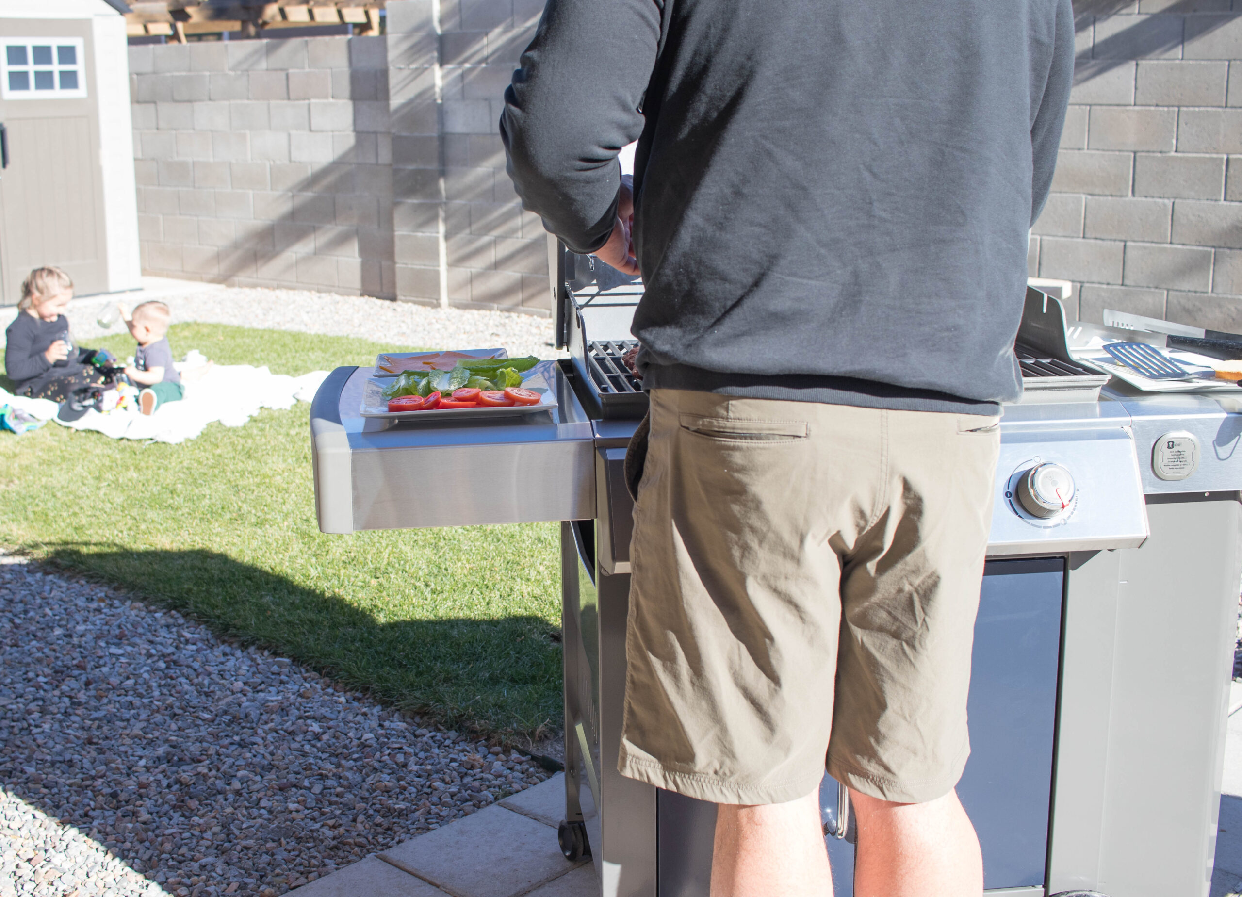 easy tailgating ideas at home #athomeactivties #familyfriendly #tailgating