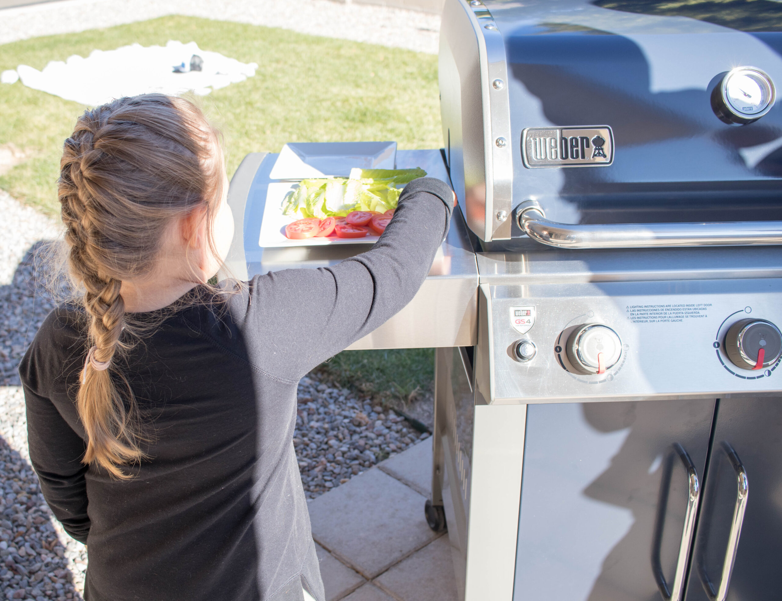 tailgating at home with kids #stayhome #athomeactivities #grilling