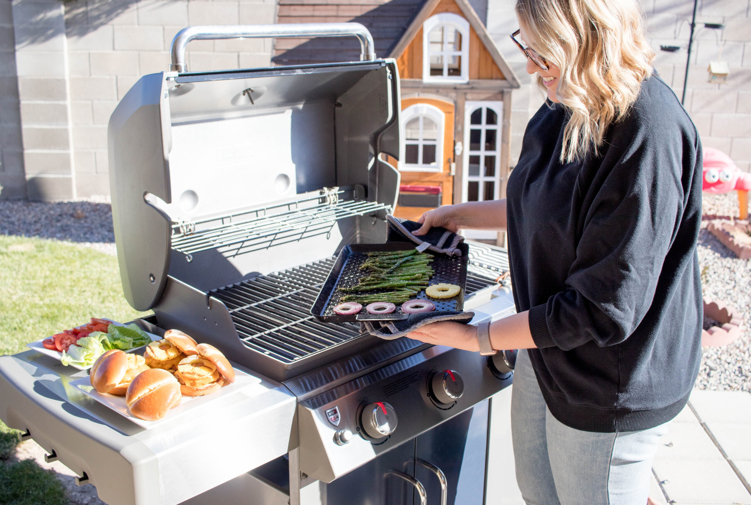 at home tailgating with ace hardware #aceahardware #tailgatingathome #familyfun