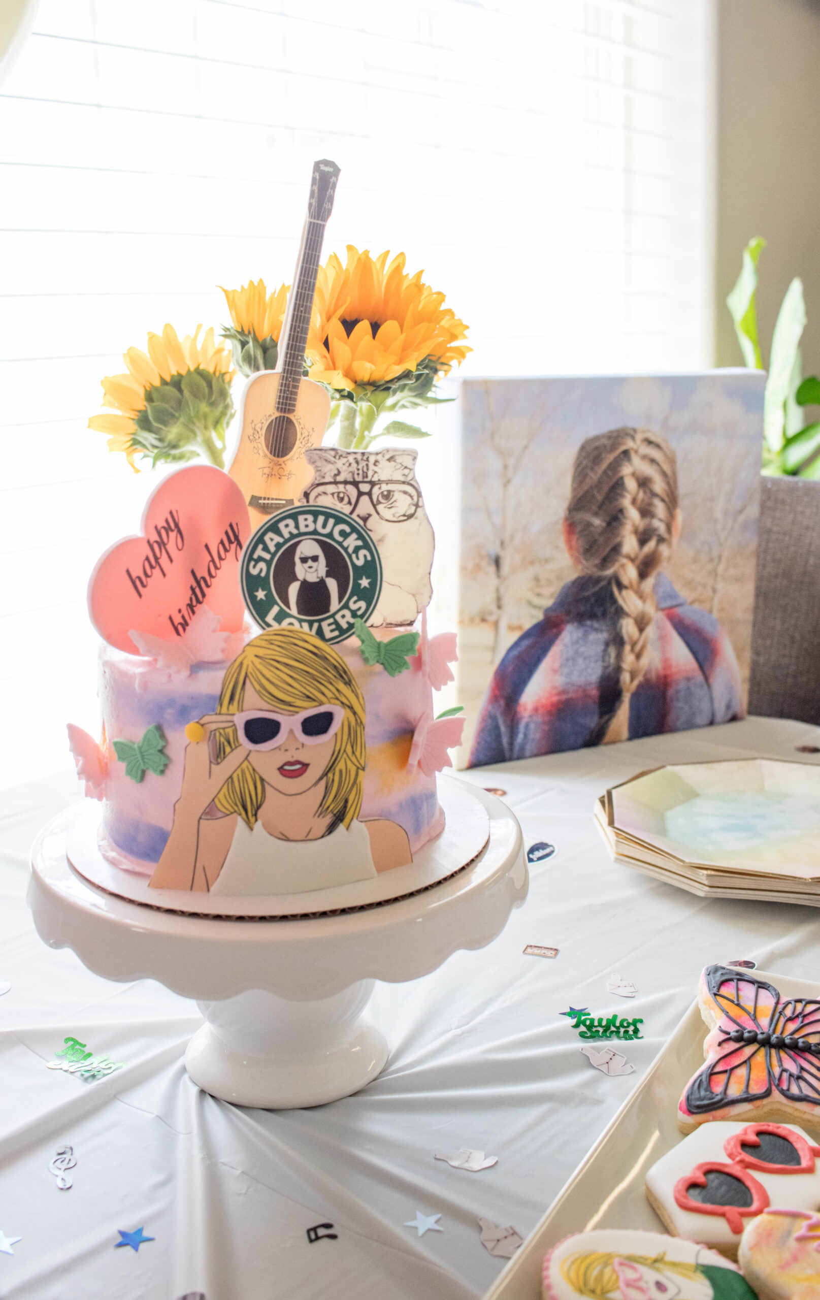 taylor swift 6th birthday party #birthdayparty #diyparty #taylorswiftparty