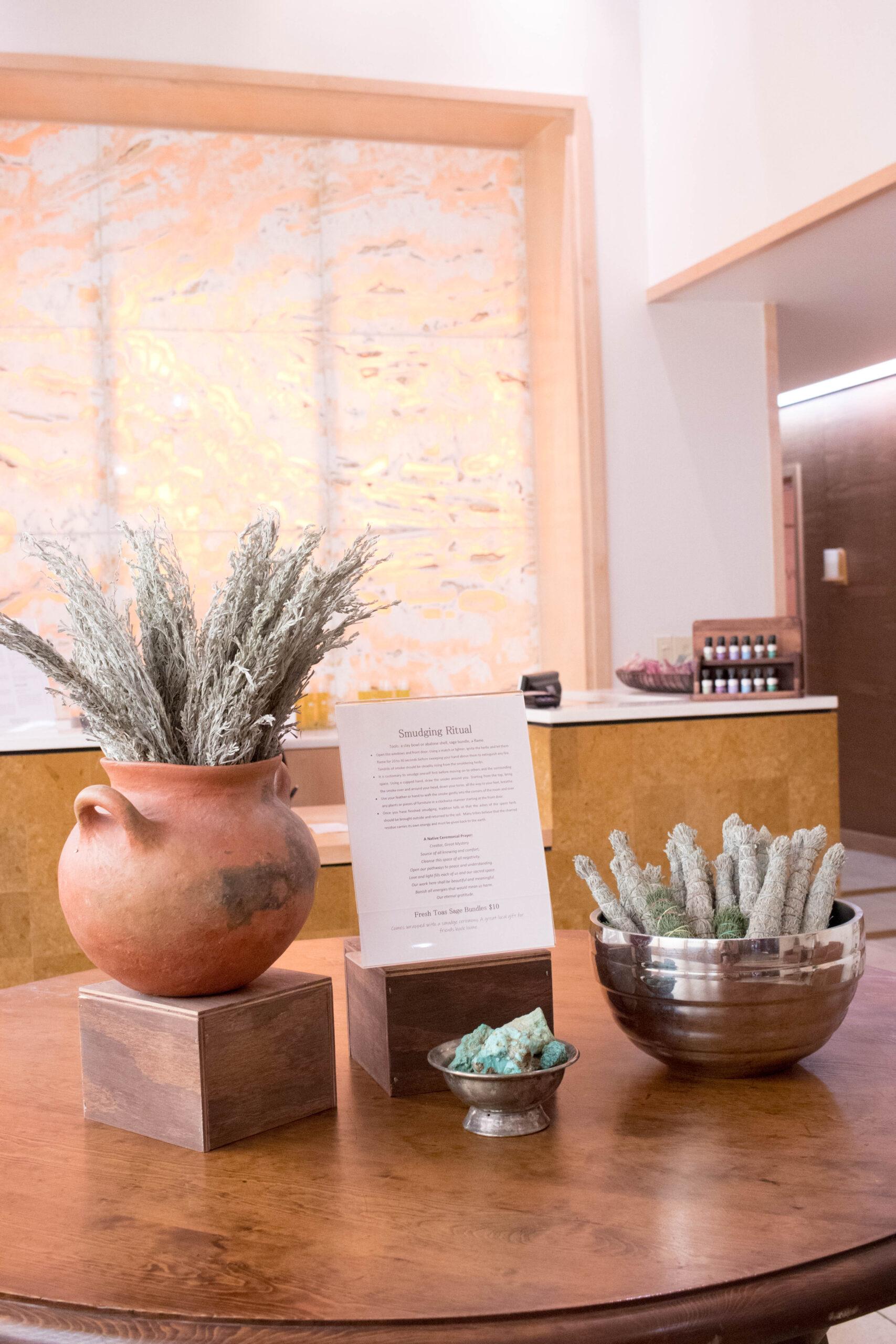 Nidah spa Eldorado hotel Santa Fe #spa #spatreatment #santafe