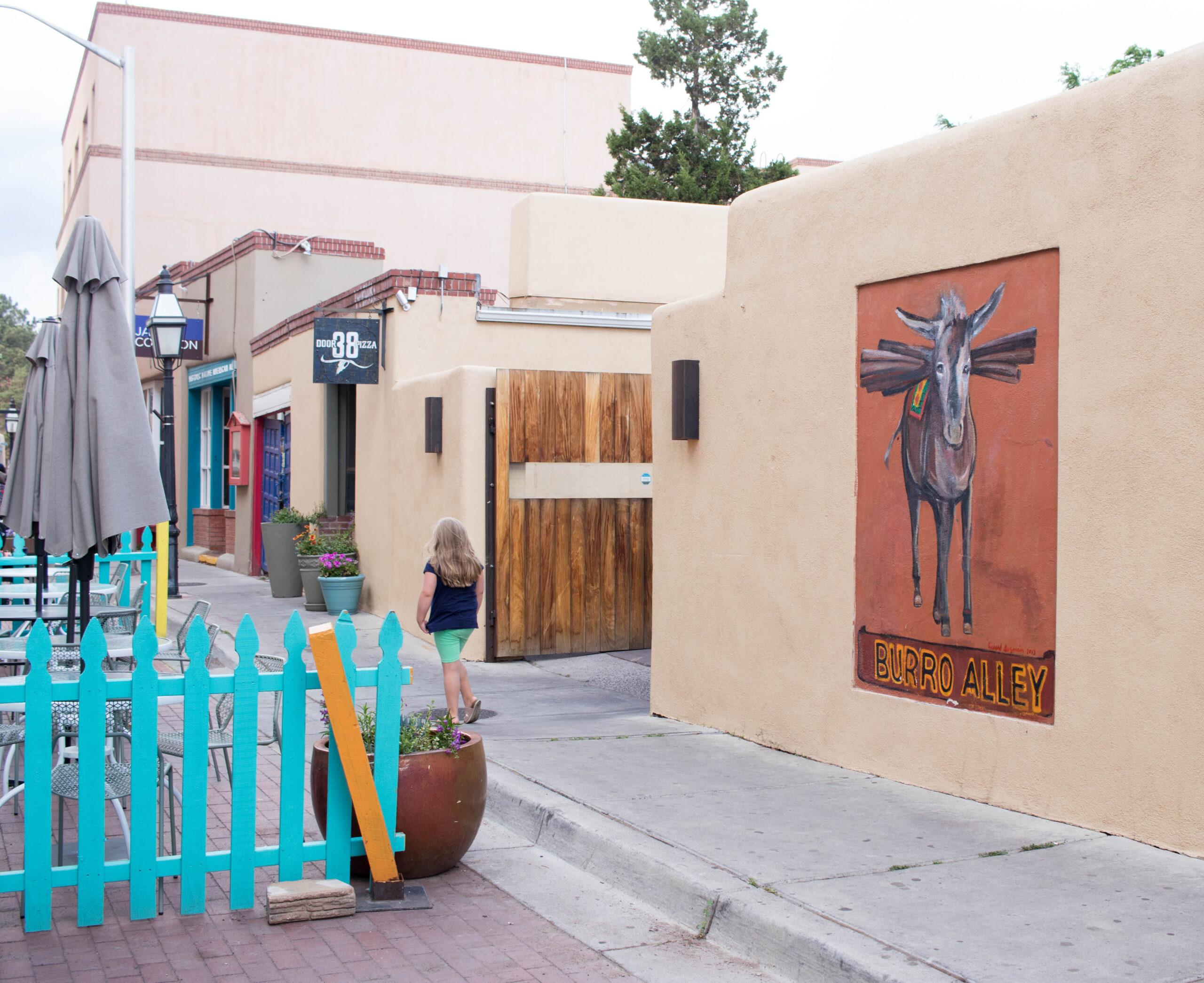 burro alley Santa Fe New Mexico #santafe #newmexico #newmexicotrue